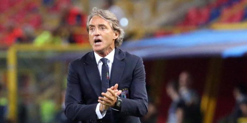 Roberto Mancini, tecnico della nazionale di calcio italiana