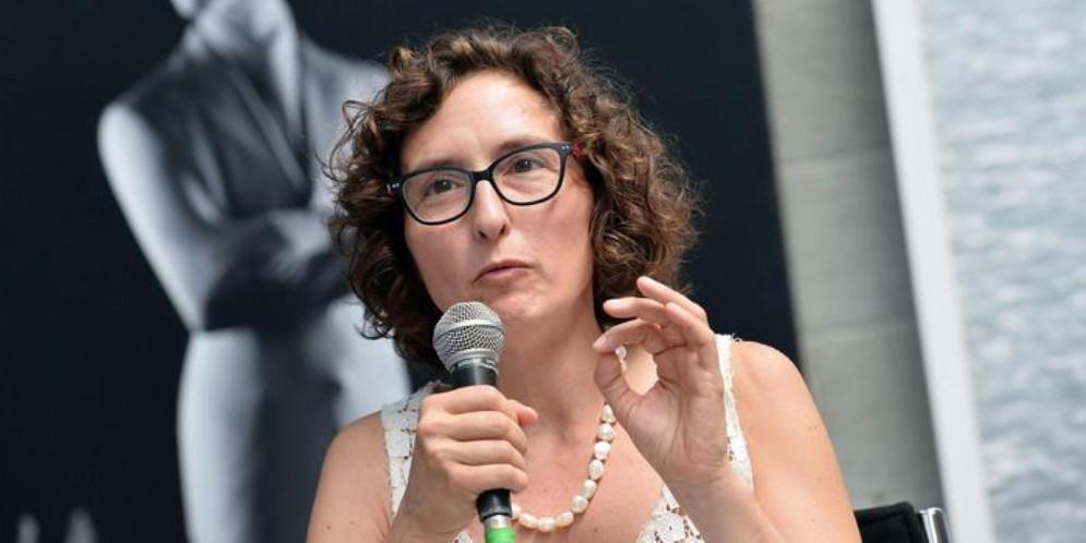 L'assessorealla Cultura, Francesca Leon