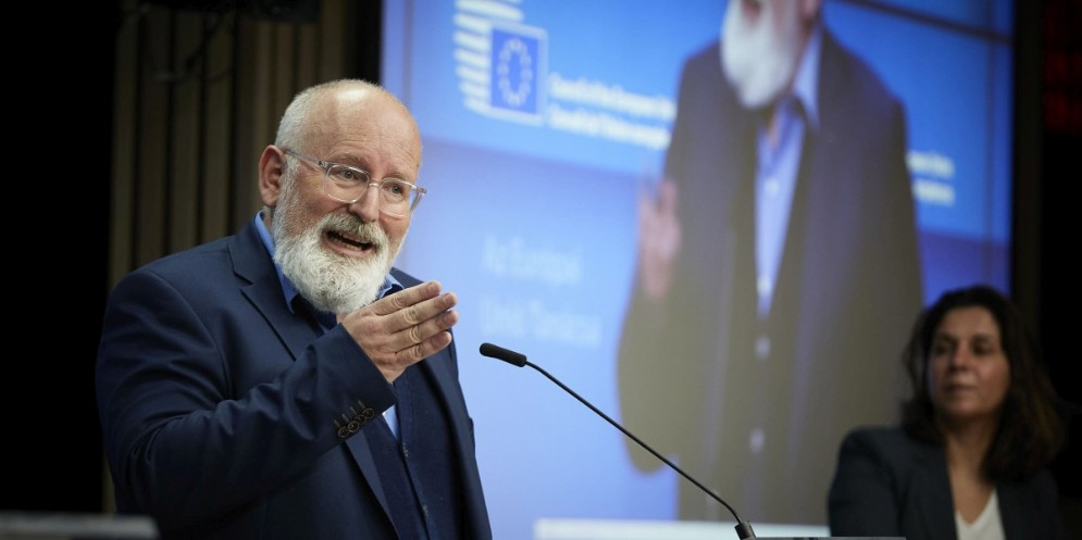 Il vicepresidente esecutivo della Commissione europea responsabile per le politiche climatiche, Frans Timmermans