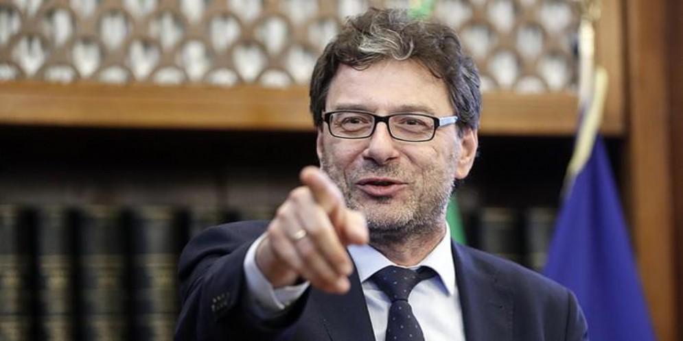 Il Ministro dello Sviluppo economico, Giancarlo Giorgetti