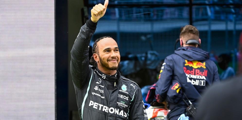 Il pilota della Mercedes, Lewis Hamilton
